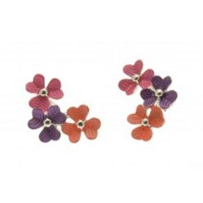 Miss Milly Flower Earrings - Tropical