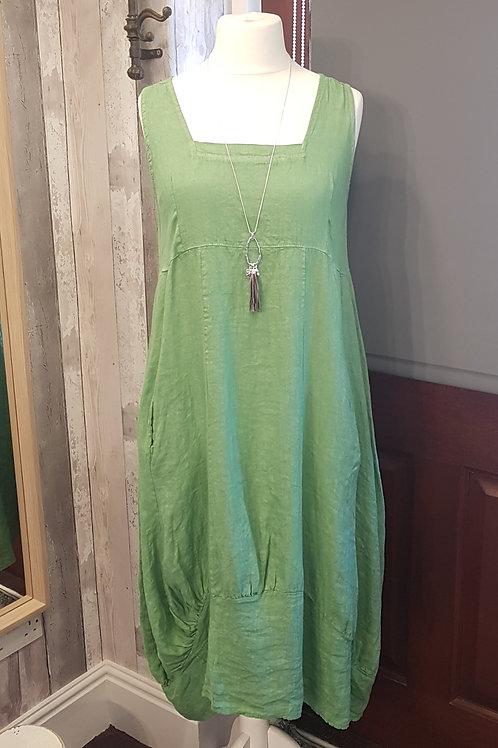 Colette Long Linen Dress