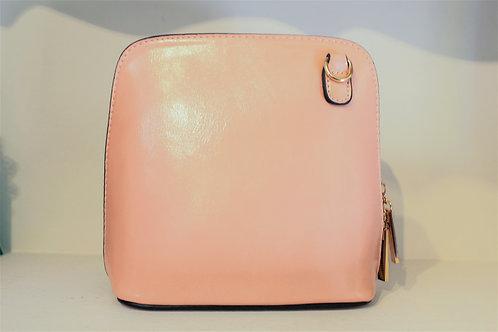 Cross-body Handbag - Baby Pink