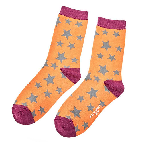 Star Bamboo Socks