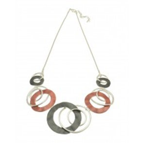 Miss Milly Red swirl Necklace