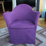 Made to measure chair cover