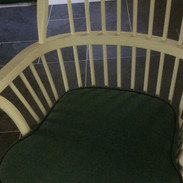 Recovered chair pad