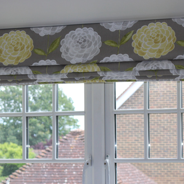 Roman blind for a teen's bedroom