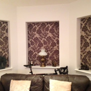 Three inset blinds