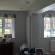 Pair of sitting room blinds