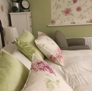 Scatter cushions to match the blind