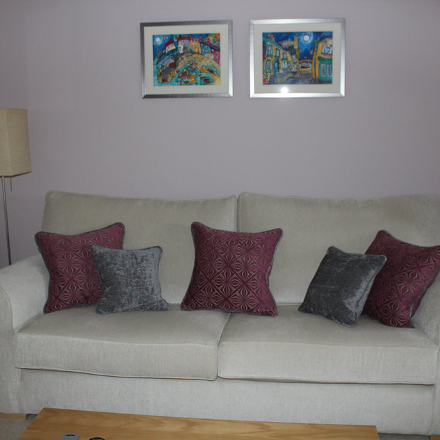 Co-ordinating scatter cushions