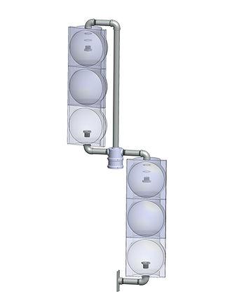 LT-2-B left turn vehicular mount/center caltrans