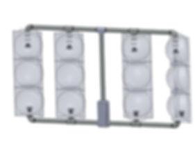 SV-4-TA 4 signal heads inline caltrans framework