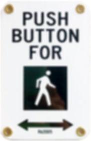 """R62D or R62DD5 5x7"""" pedestrian crossing sign"""