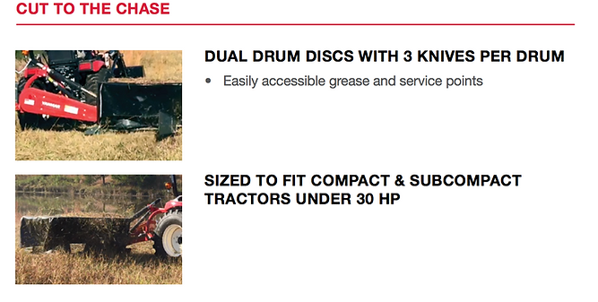 Disc Drum Mowers, drum mower, yanmar attachments, yanmar attachments on line, buy attachments on line, yanmar, yamar tractors, tractors, tractor