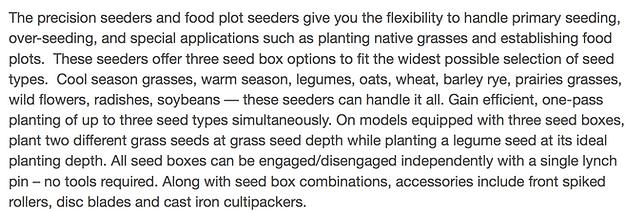 Precision seeders, seeders, yanmar seeders, yanmar precision seeders,  yanmar attachments, yanmar attachments on line, buy attachments on line, yanmar, yanmar tractors, tractors