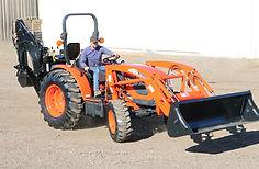 Kioti Tractor Loader Backhoe DK10 Series