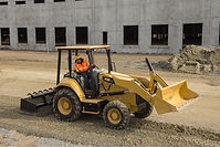 Cat Skip Loader with Gannon Box