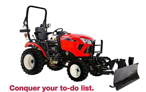 Lift more. Dig deeper. Cut faster. You'll be able to use a wide range of attachments to get the most out of what your property has to offer. SA Series tractors provide the flexibility to handle any job around your property.