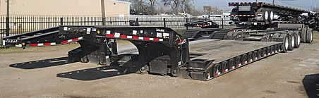 Detachable Lowboy Rental Trailer