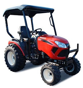 Yanmar outfits the SA424 with a larger, more aggressive tire package, which increases ground clearance and provides more stability over the roughest parts of your property. The design also means you'll operate with more comfort and confidence