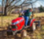 This tractor is built for the people who share our passion for the land and believe in working that land the right way. Not only is it built with a powerful, fuel-efficient engine to work all day, its sleek design is engineered for comfort and efficiency. Now in red. The color of passion. Because when it comes to a love of the land, we know you're not alone.