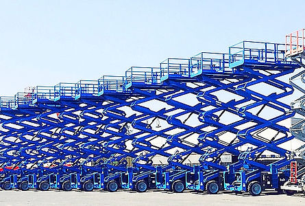 Scissor Lift Rental Fleet Phoenix Arizona