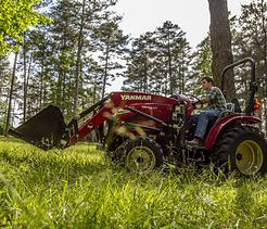 yanmar tractor, tractor, tractor loader, loader attachmen, yanmar yt235 tractorloader, yanmar yt2, 35HP, yanmar 35HP