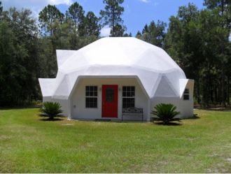 Small dome house