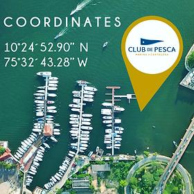 Club De Pesca Marina Coordinates
