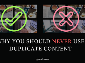 Why You Should NEVER Use Duplicate Content