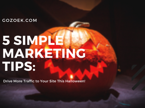5 Marketing Tips to Drive Traffic to Your Site this Halloween!