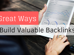 7 Great Ways to Build Valuable Backlinks