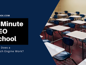 5-Minute SEO School: How Does a Search Engine Work?