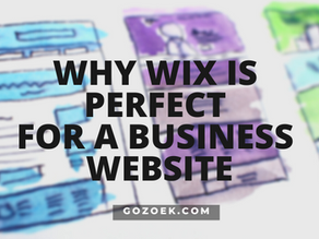 Why WIX is Perfect for a Business Website