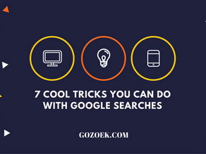 7 Cool Tricks You Can Do With Google Searches