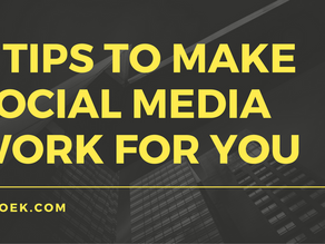 6 Tips to Make Social Media Work for You