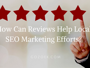 How Can Reviews Help Local SEO Marketing Efforts?
