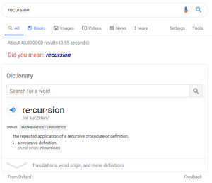 recursion image