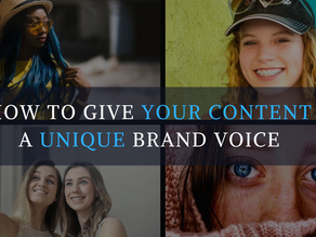 How to Give Your Content a Unique Brand Voice