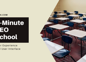 5-Minute SEO School: What is User Experience and User Interface?