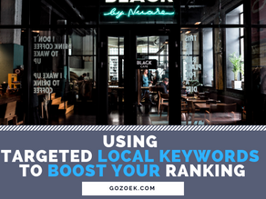 Using Targeted Local Keywords to Boost Your Ranking