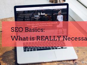 SEO Basics: What is REALLY Necessary?
