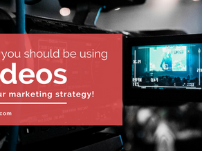 Why You Should Be Using Videos In Your Marketing Strategy