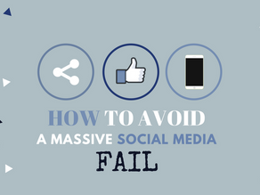 How to Avoid a Massive Social Media Fail