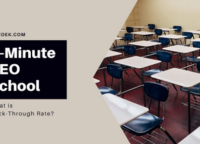 5-Minute SEO School: What is Click-Through Rate?