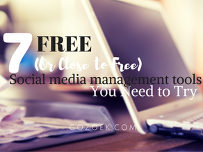 7 Free (Or Close to Free) Social Media Management Tools You Need to Try