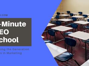 5-Minute SEO School: Erasing the Generation Gaps