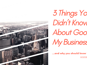 3 Things You Didn't Know About Google My Business
