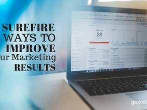 5 Surefire Ways to Improve Your Marketing Results