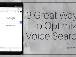 3 Great Ways to Optimize for Voice Search