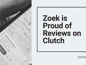 Zoek is Proud of Reviews on Clutch!