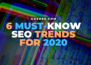 6 Must-Know SEO Trends for 2020